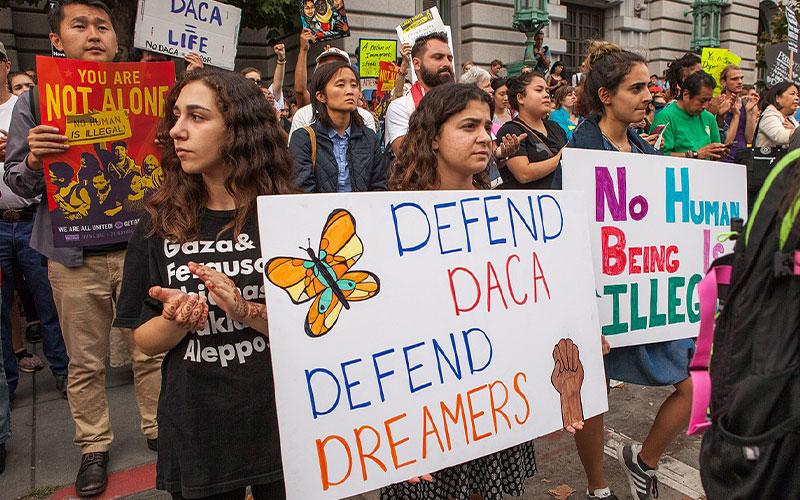El tribunal de apelaciones de EE. UU. falla contra Trump en el programa de inmigración de DACA