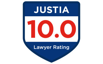 Justia Lawyer Rating - 10.0