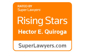 Super Lawyers Rising Stars - Hector E. Quiroga