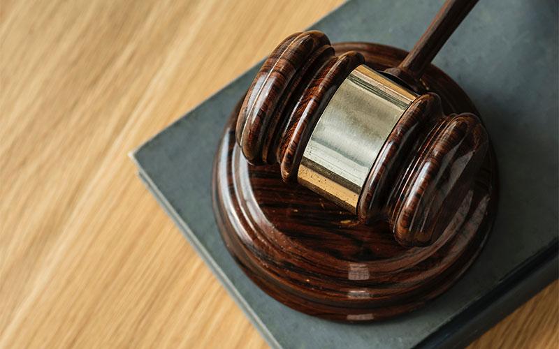 Gavel Judge Courtroom