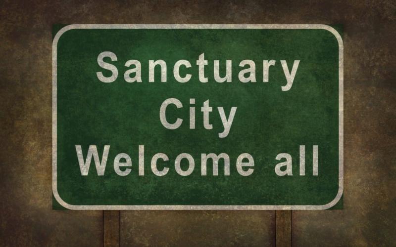 Trump se fijó en la idea de la ciudad santuario en medio de la oposición y las dudas sobre la legalidad