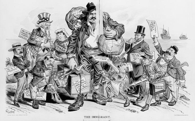 The Immigrant (Wikimedia)