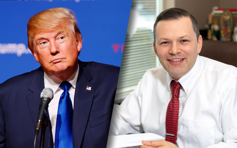 President Trump & Hector Quiroga