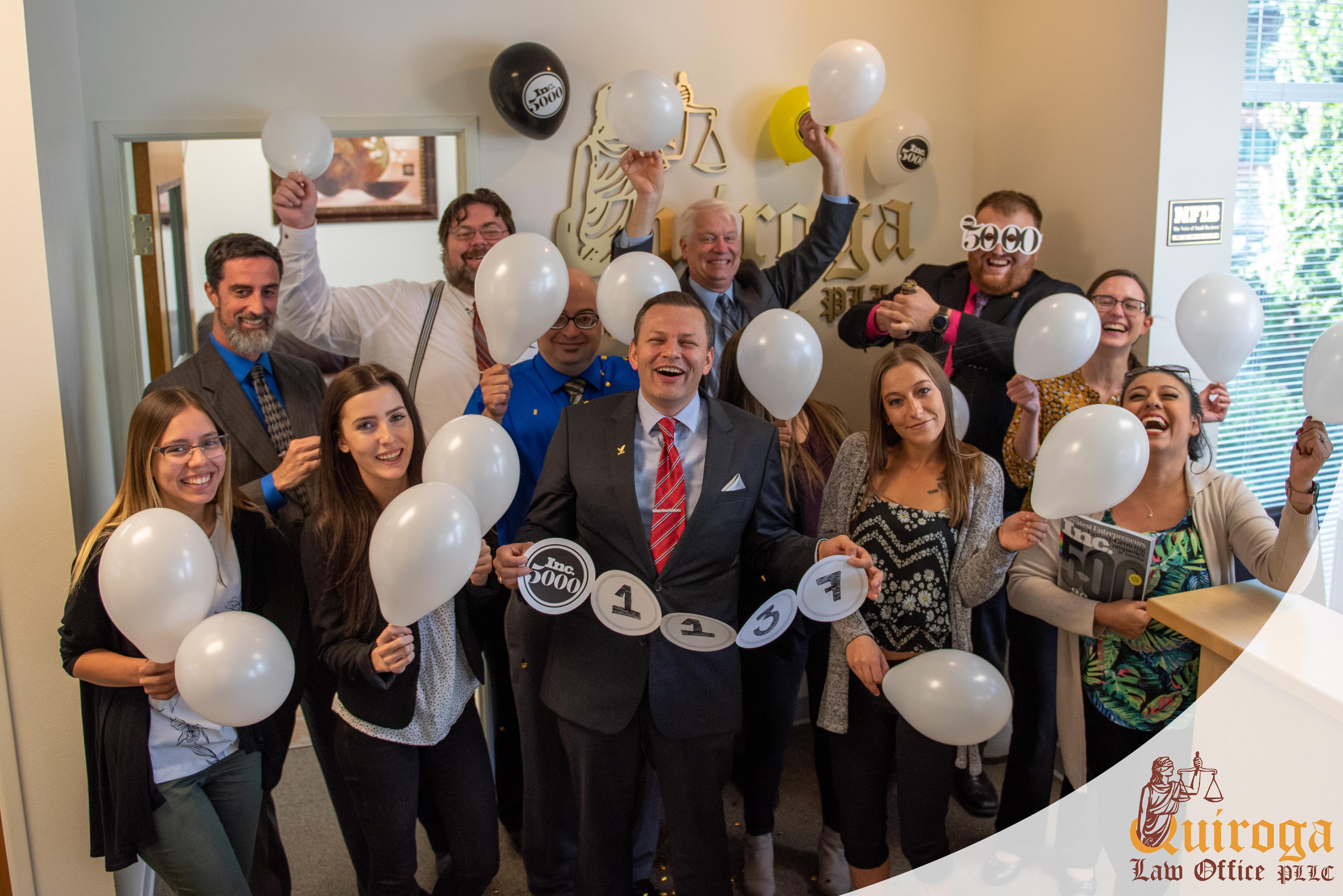 Quiroga Law Office - Inc 5000 2019 Team
