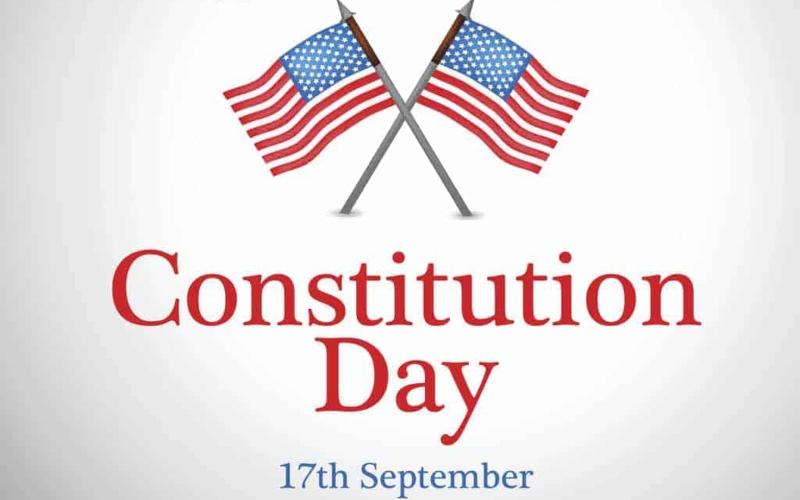 Celebración del Día de la Constitución y el Día de la Ciudadanía por parte del USCIS