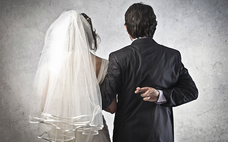 What is a fake marriage?