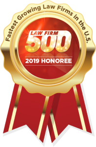 Quiroga Law in Law Firm 500 2019 Honoree