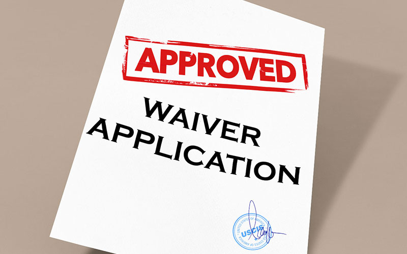 waiver-application-approved