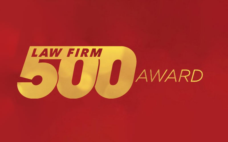 Quiroga Law Office, PLLC Among Fastest Growing Law Firms in U.S.