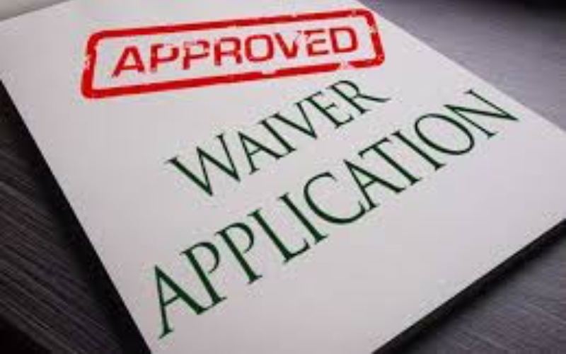 Waiver and legal release, in deportation cases