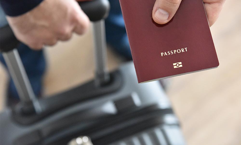 viajar en proceso de visa u